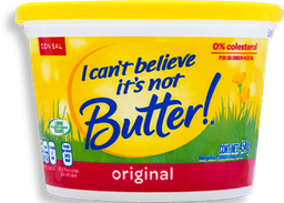 Margarina I Can't Believe Its Not Butter con Sal 454 g