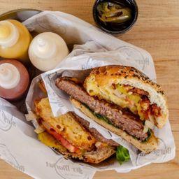 Mac & Cheese Burger 6 Onzas