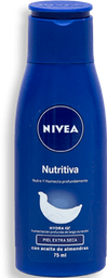 Crema Corporal Nivea Nutritiva Piel Extra Seca 75 mL
