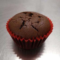 Muffin Vegano Doble Chocolate