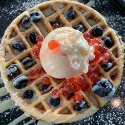 Waffle Blueberries