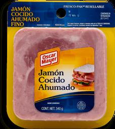 Jamón Oscar Mayer Cocido Ahumado 340 g
