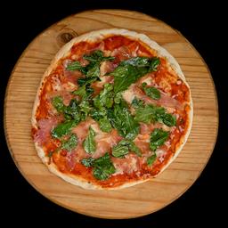 Pizza Serrano y Arúgula