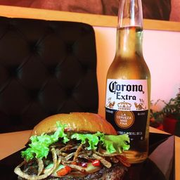 Combo Burger & Beer