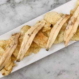 Boquerones con Chips