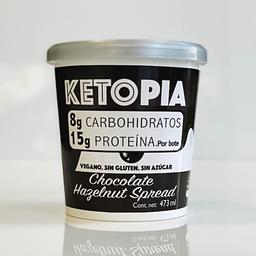 Ketopia Helado de Chocolate Hazelnut