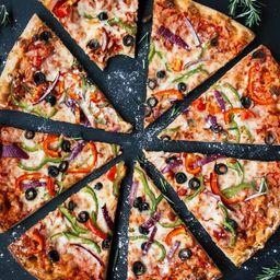 Pizza grande hortolana