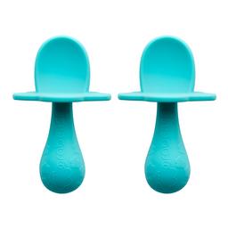 Grabease Set de Cucharas Mini Color Azul