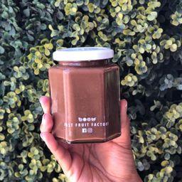 Crema de Cacahuate con Cocoa