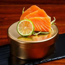 Sashimi Salmón Ahumado Flameado