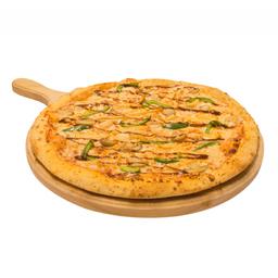 Pizza monstruo pollo bbq