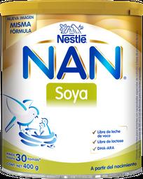 Fórmula Infantil Nan Soya a Partir Del Nacimiento 400 g
