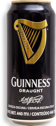 Cerveza Guinness Draught Oscura 440 mL