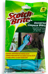 Guantes Scotch Brite Mediano 7-7 1/2 Aroma Limón 1 U