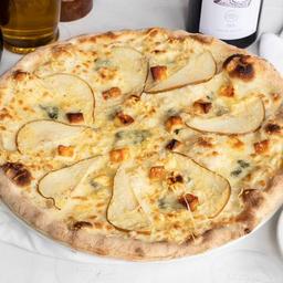 Pizza Cuatro Quesos con Pera