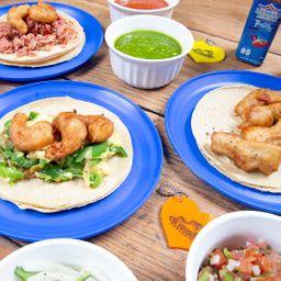 3 Tacos y Refresco