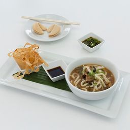 Sopa de Fideos con Shiitake