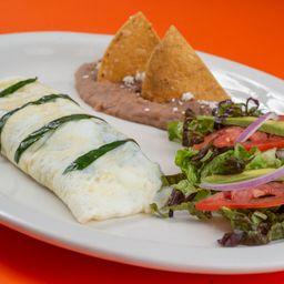 Omelette de Espinacas