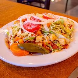 Enchiladas Fritas con Pollo