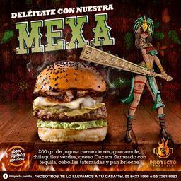 Hamburguesa Premium Mexa