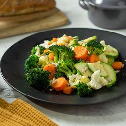 Verduras Al Vapor Gratinadas