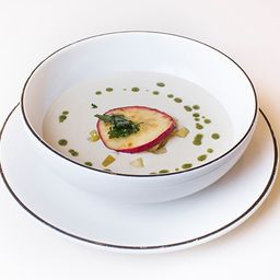 Sopa Camembert