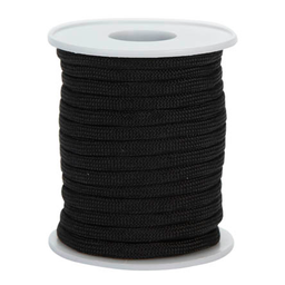 Cordón Paracaídas 4 mm 10m Negro