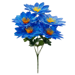 Bush Chico Lily x5 Flores 40 cm Azul