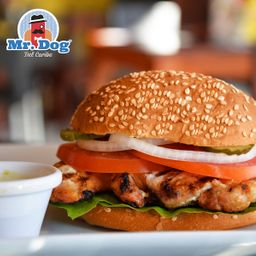 Hamburguesa Mr Chicken Grill