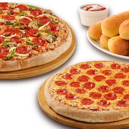Pizzas PK Compartas
