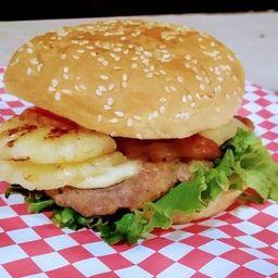 Hamburguesa Hawiana