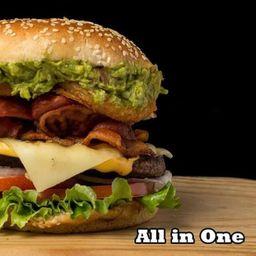 Hamburguesa All In One