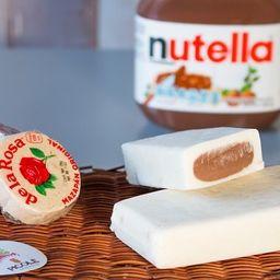 Paleta de Mazapán con Nutella