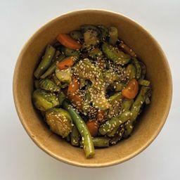 Verduras Salteadas con Ajonjoli