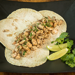 Tacos de Pollo (180gr 4a5 Tacos)