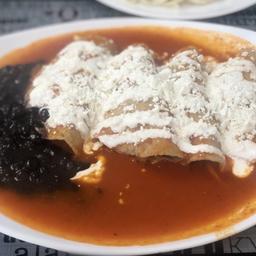 Enchiladas de Res