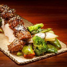 Tepanyaki de carne