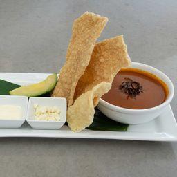 Sopa de Chicharrón
