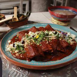 Enchiladas Rellenas