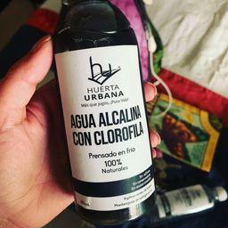 Agua Alcalina con Clorofila