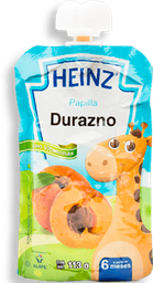 Papilla Heinz Durazno Etapa 2 113 g