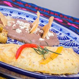 Omelette de Rajas Poblanas