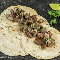 Taco de Arrachera (180gr 4a5 Tacos)