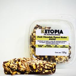 Ketopia Chocolate Peanut Butter Barks