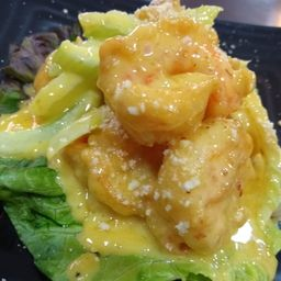 Camarones en salsa de mango (8 pz)