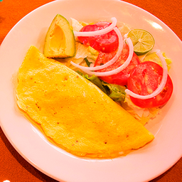 Omelette con Queso y Jamón