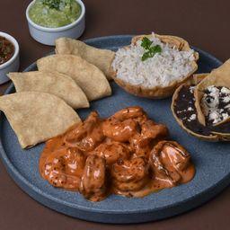 Tacos de Camaron Spicy