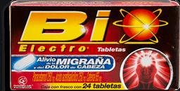 Bio Electro Migraña 24 Tabletas (250 mg/250 mg/60 mg)