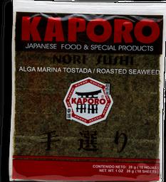 Alga Marina Kaporo Tostada Para Sushi 10 U