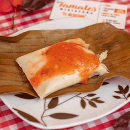 Tamal Oaxaqueño Mini Rojo con Pollo
